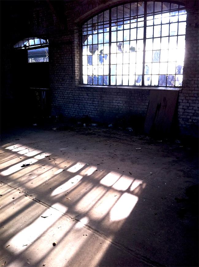 Verfallene Fabrik Berlin, Fotografie