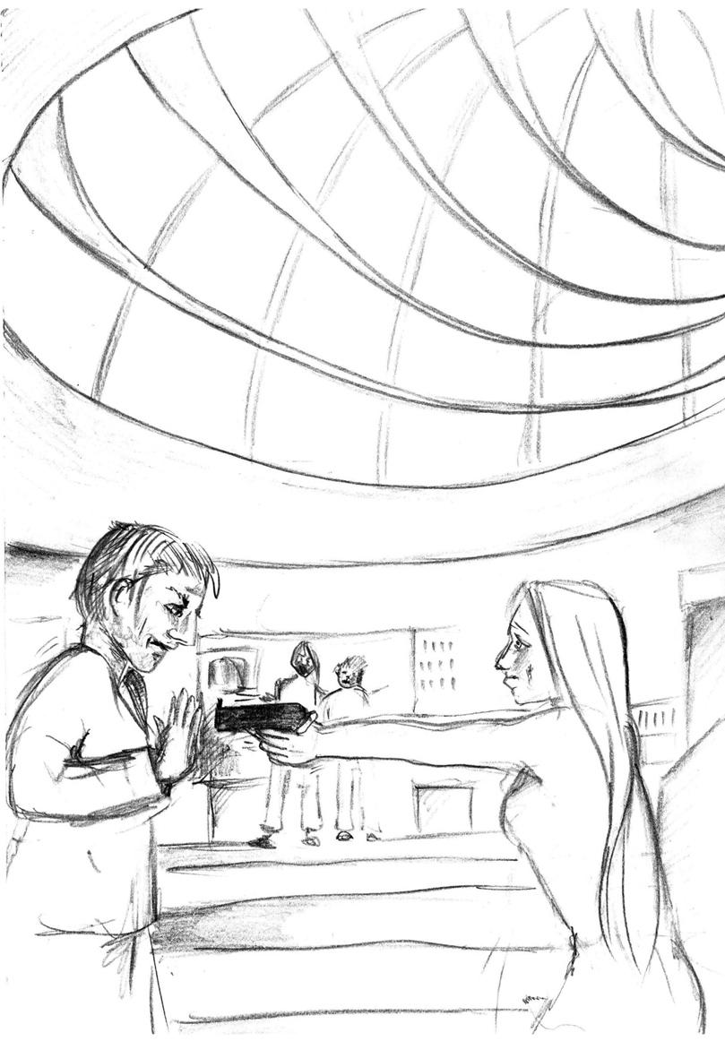 Illustration Hörspiel Skizze 01